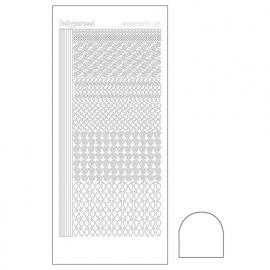 Hobbydots sticker - Adhesive White  nr.19