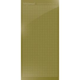 Hobbydots sticker Sparkles 01 Mirror Gold  HSPM017