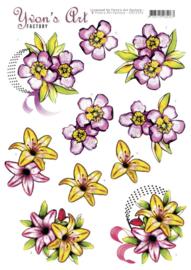 3D Cutting Sheet - Yvon's Art - Mothers Day  CD11513
