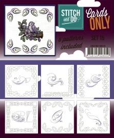 Stitch & Do - Cards only - Set 15