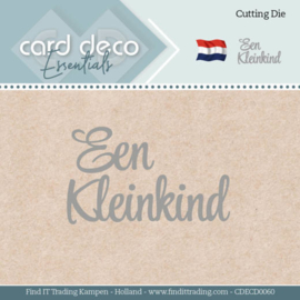 Card Deco Essentials - Dies - Een Kleinkind CDECD0060