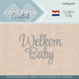 Card Deco Essentials - Dies - Welkom Baby  CDECD0059