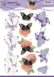 Jeanine's Art - Butterfly  Cd10931
