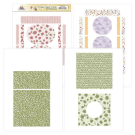 Printed Figure Cards - Precious Marieke - Blooming Summer  PMFC10001