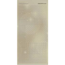 Hobbydots Sticker - Pearl - 10 Gold  STDP101