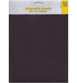 MAG004 - Magnetic Sheet  2pcs / A4 / 0,5mm