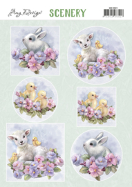 Push Out Scenery - Amy Design - Spring Animals CDS10021