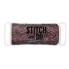 Stitch and Do Sparkles Embroidery Thread Burgundy   SDCDS01