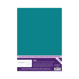Centura Pearl enkelzijdig a 1 Vel - Blauwgroen CP10-TEAL