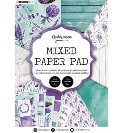 A5MPPSL158 - SL Mixed Paper Pad Pattern paper Essentials nr.158