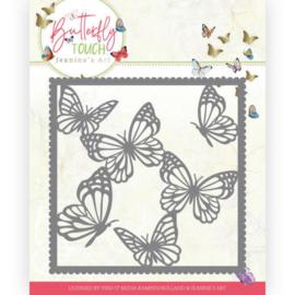 Dies - Jeanine's Art - Butterfly Touch - Butterfly Frame JAD10118   Formaat ca. 12,5 x 12,5 cm