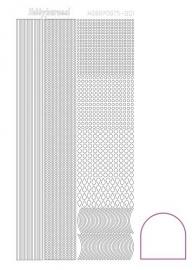Hobbydots sticker - Adhesive - White nr 1