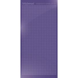 Hobbydots sticker Sparkles 01 Mirror Purple  HSPM019