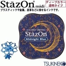 Stazon Midi Midnigth Bleu