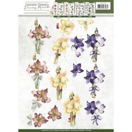 3D Knipvel - Precious Marieke - Fantastic Flowers - Amaryllis  CD10857