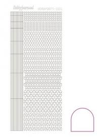 Hobbydots sticker - Adhesive - White  nr.5