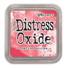 Ranger Distress Oxide - Festive Berries TDO55952 Tim Holtz