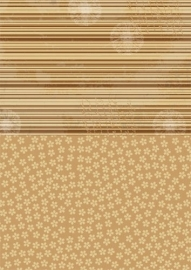 NEVA005 background sheets A4 brown flowers