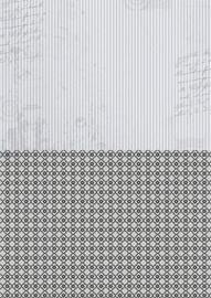 NEVA019 background sheets A4 black stripes