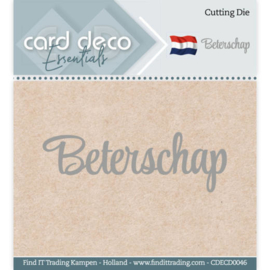 Card Deco Essentials - Cutting Dies - Beterschap CDECD0046