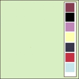 Linnenkarton - Vierkant - Lichtgroen  19