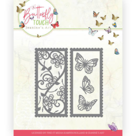 Dies - Jeanine's Art - Butterfly Touch - Butterfly mix and match  JAD10123  Formaat ca. 9 x 9 cm