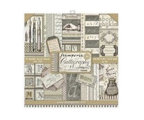 Stamperia Calligraphy 8x8 Inch Paper Pack (SBBS24)