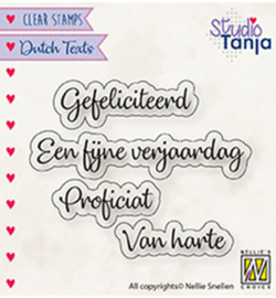 DTCS027 - Dutch texts, Proficiat etc..
