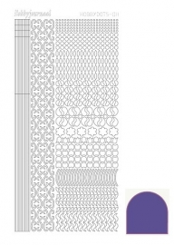 STDM119 Hobbydots sticker - Mirror - Purple