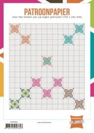 Hobbydots-Sparkles Patroonpapier  HSPPP003 193 x 242 mm 24 stuk