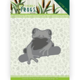 Dies - Amy Design - Friendly Frogs - Tree frog HZ+  ADD10230  Formaat ca. 5,3 x 4,4 cm - 10 x 10 cm