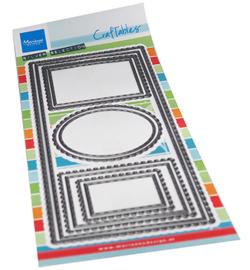 CR1537 - Slim line frames 10 pcs, 98.5 x 210 mm