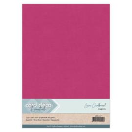 Linen Cardstock - A4 - Magenta 67