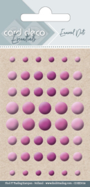 Card Deco Essentials - Enamel Dots Pink  CDEED014
