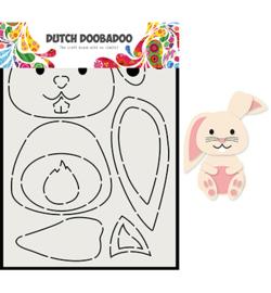 470.713.811 - DDBD Card Art Built up Konijn