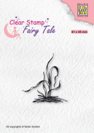 Nellie's Choice Clearstamp silhouette Fairy Tale Nr 28 FTCS028