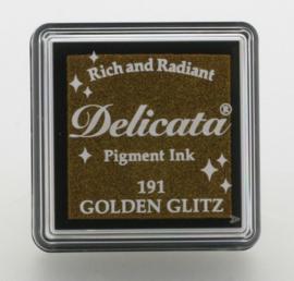 Delicata small Inkpads Golden Glitz   DE-SML-191
