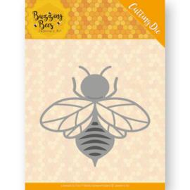 Dies - Jeanines Art - Buzzing Bees - Hobbyzine Die -  JAD10072  Formaat ca. 5 x 5,4 cm