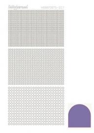 Hobbydots sticker serie 7 - Mirror - Violet