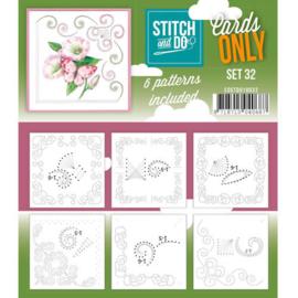 Stitch & Do - Cards only - Set 32
