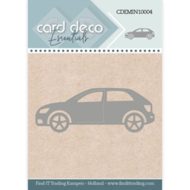 Card Deco Essentials - Mini Dies - Car  CDEMIN10004  Formaat ca. 5,3 x 2 cm