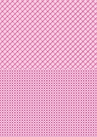 NEVA007 background sheets A4 pink squares