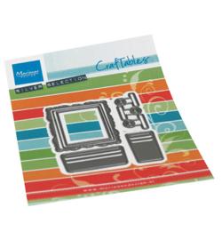 CR1522 - Card display accessories 6 pcs, 42 x 52 mm, 38 x 20 mm 17 x 33 mm