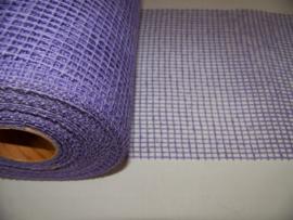Jute 17 cm breed lavendel (0.5 meter)