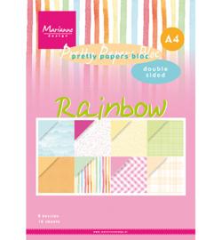 PK9175 - Papier blok Rainbow