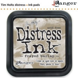 Tim Holtz distress ink pad frayed burlap 21469