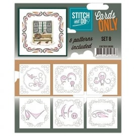 Stitch & Do - Cards only - set 8