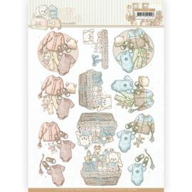 3D cutting sheet - Yvonne Creations - Newborn - Baby Clothes  CD11628