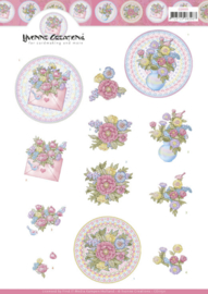 3D Cutting Sheet - Yvonne Creations - Mothers Day Flowers  CD11511