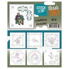 Stitch & Do - Cards only - set 6
